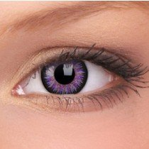 Violet Glamour Coloured Contact Lenses (90 Day)