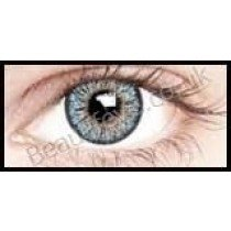 Cool Blue 3 Tone Blends Coloured Contact Lenses (1 Month)