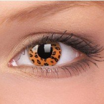 Leopard Crazy Colour Contact Lenses (1 Year Wear)