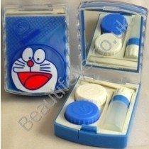Doreamon Designer Contact Lens Travel Kit With Mirr
