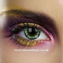 EDIT Big Eye Dolly Green Coloured Contact Lenses