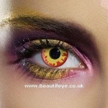EDIT Crazy Flame Eyes Contact Lenses