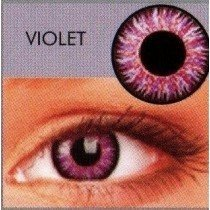 Glamour Violet Coloured Contact Lenses  (3Month Lens)