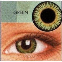 Green 3 Tone Blends Coloured Contact Lenses (1 Month)