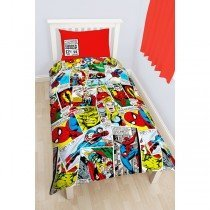 Marvel Comics Reversible Single Duvet