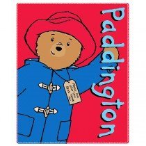 Paddington Bear Fleece Blanket