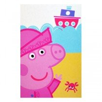 Peppa Pig Nautical Fleece Blanket