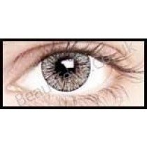 Satin Grey Coloured Contact Lenses (1 Month)