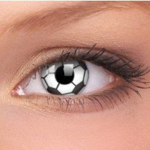 Soccer Crazy Colour Contact Lenses (1 Year Wear)