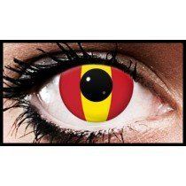 Spanish Flag Colour Contact Lenses (90 Day)