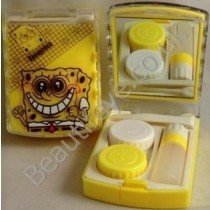 Spongebob Squarepants Designer Contact Lens Travel Kit With Mirr