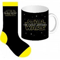 Star Wars Force Awakens Mug and Sock Set