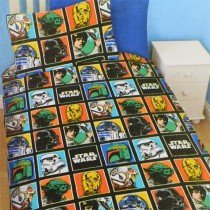 Star Wars Force Reversible Single Duvet