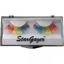 Stargazer Reusable False Eyelashes Rainbow & Gold Foil 1