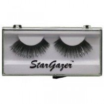 Stargazer Reusable False Eyelashes Black & Black Foil 13