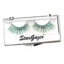 Stargazer Reusable False Eyelashes Blue & Gold Hologram Foil 25