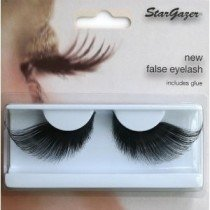 Stargazer Reusable False Eyelashes Extra Long Black 54
