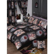 Single Bed The Story Of The Rose, Duvet / Quilt Cover Bedding Set, Alchemy Gothic