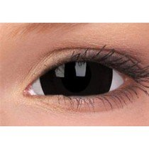Black Titan Mini Sclera Coloured Contact Lenses (1 Year)