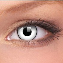 White Zombie Crazy Colour Contact Lenses (1 Year Wear)