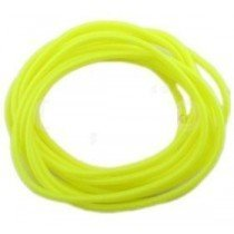 Set Of 12 Neon Yellow Gummy Band Bracelets