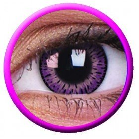 Elegance Pink Coloured Contact Lenses
