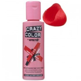 Crazy Colour Hair Dye Fire Red
