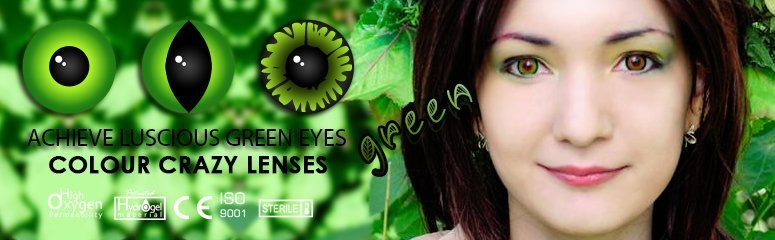 Green Contacts