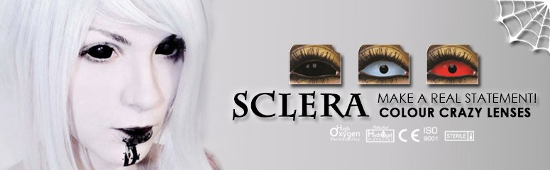 ColourVUE Full Eye Sclera Contacts