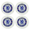 Chelsea Round Glass Coasters - 4PK