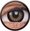 ColourVUE Eyelush Brown Coloured Contact Lenses
