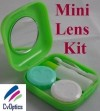 Green Mini Contact Lens Travel Kit