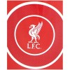 Liverpool Bullseye Fleece Blanket