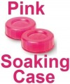 Neon Pink Contact Lens Soaking/Storage case