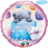Qualatex 18 Inch Round Foil Balloon - Me To You - Tatty Teddy Bday Present