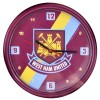 West Ham Stripe Wall Clock