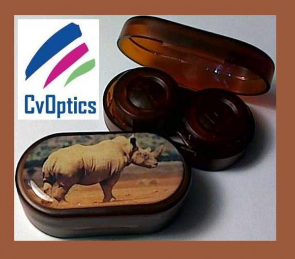 Rhino Endangered Species Contact Lens Soaking Case
