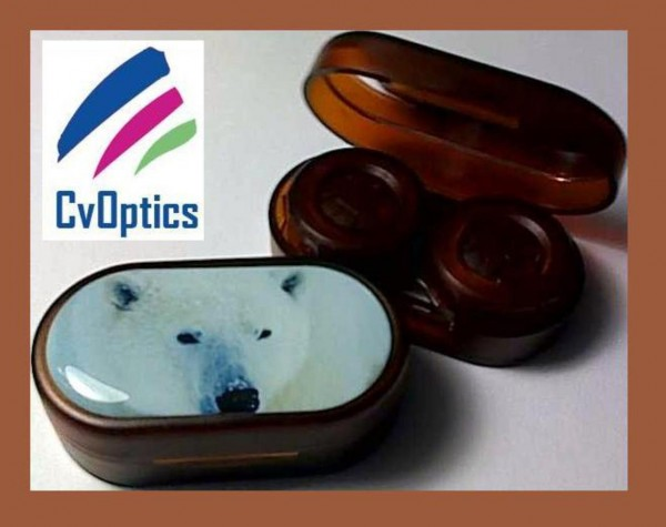 Panda Endangered Species Contact Lens Soaking Case