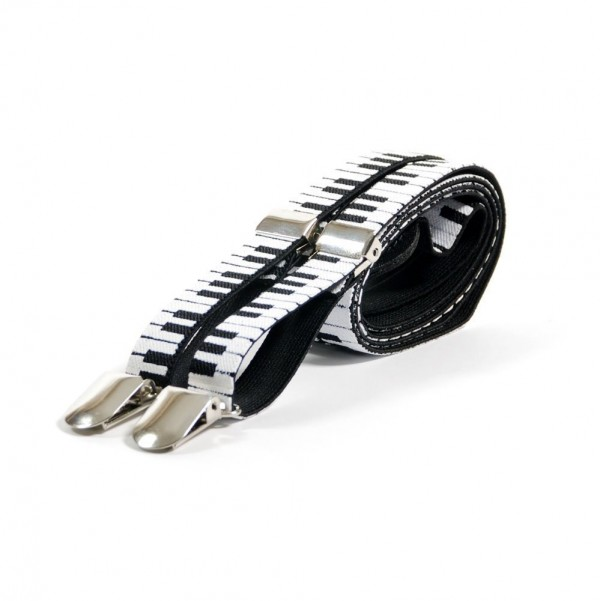 Unisex Printed Piano Fashion Braces