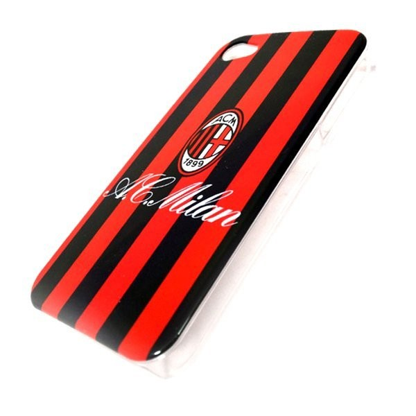 AC Milan iPhone 4/4S Hard Phone Case - Stripe