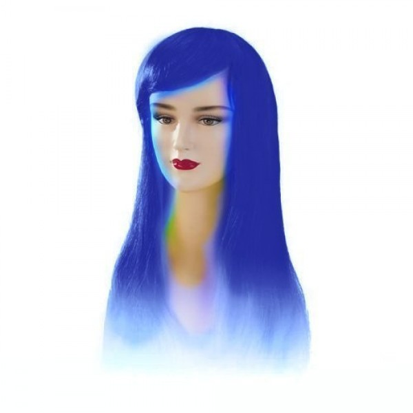 Blue Stargazer Adjustable Jezzabel Style Fashion Wig