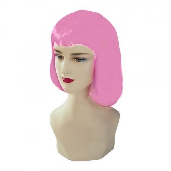 Hot Pink Stargazer Adjustable Pulp Style Fashion Wig