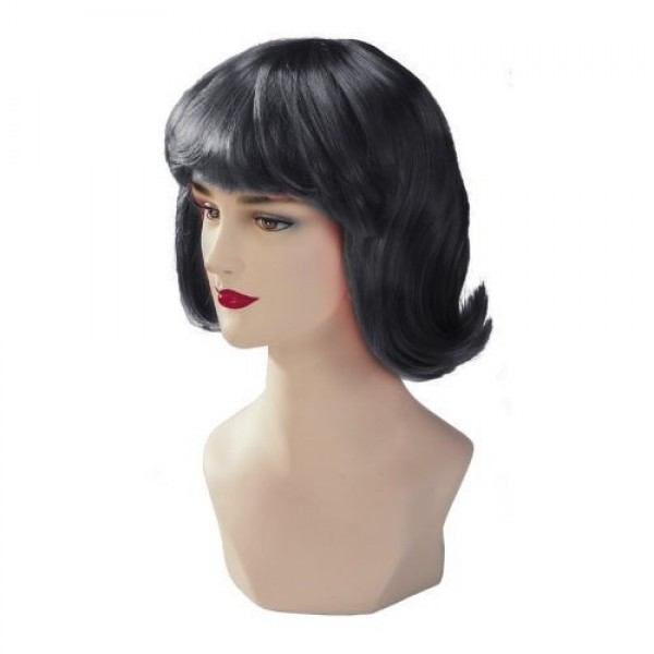 Black Stargazer Adjustable Terry Style Fashion Wig