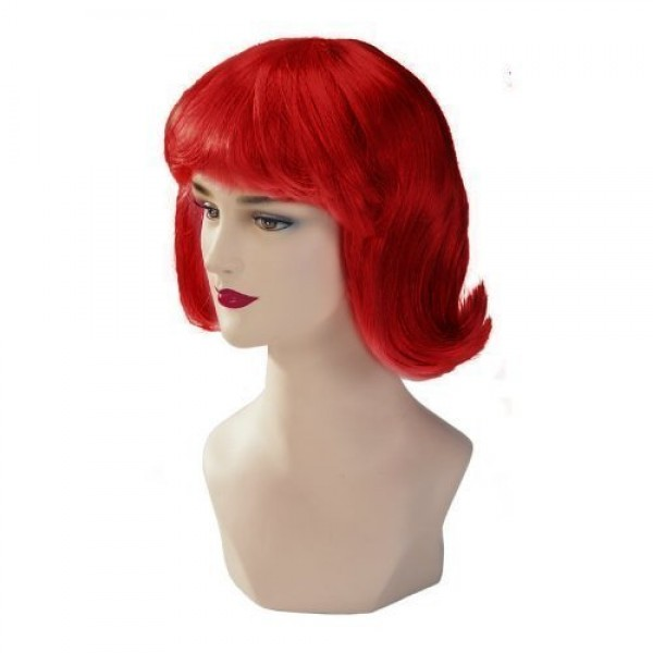 Red Stargazer Adjustable Terry Style Fashion Wig