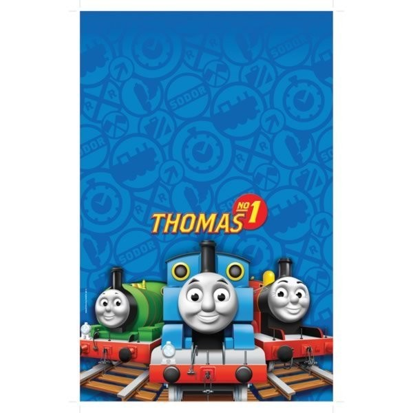 Amscan Plastic Tablecover - Thomas & Friends