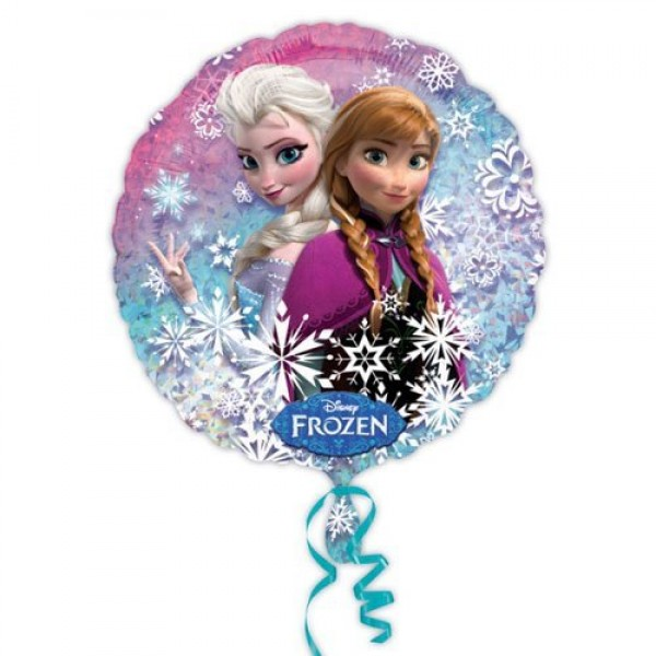 Anagram 18 Inch Circle Foil Balloon - Frozen Holographic