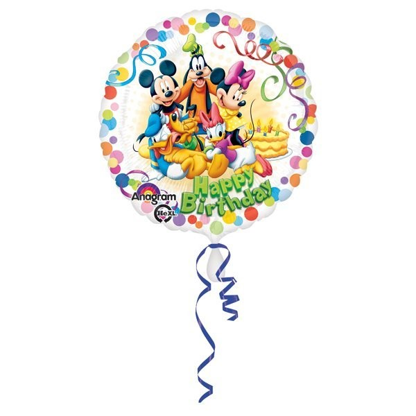 Anagram 18 Inch Circle Foil Balloon - Mickey