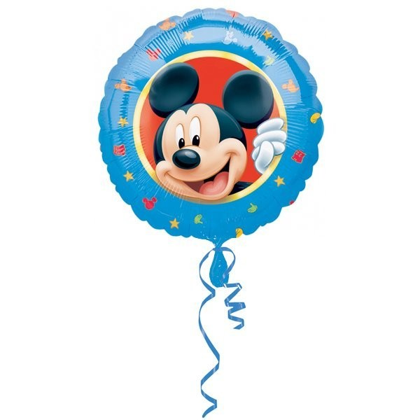Anagram 18 Inch Circle Foil Balloon - Mickey Portrait