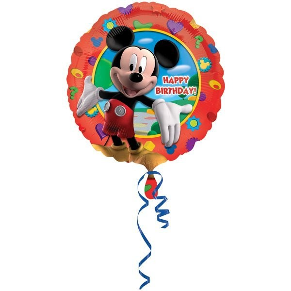 Anagram 18 Inch Circle Foil Balloon - Mickeys Clubhouse Birthday