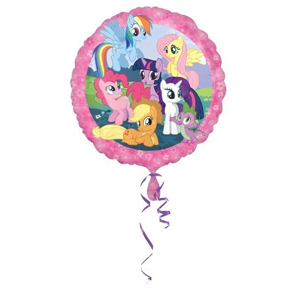 Anagram 18 Inch Circle Foil Balloon - My Little Pony